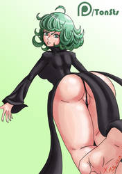 Yes. Tatsumaki wear panties... or kinda of. by TonSts