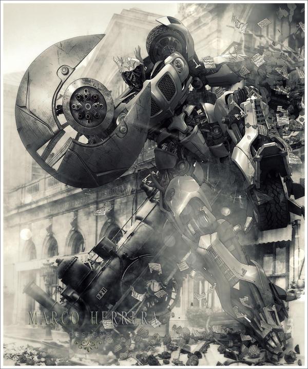Autobot by MarcoHerrera