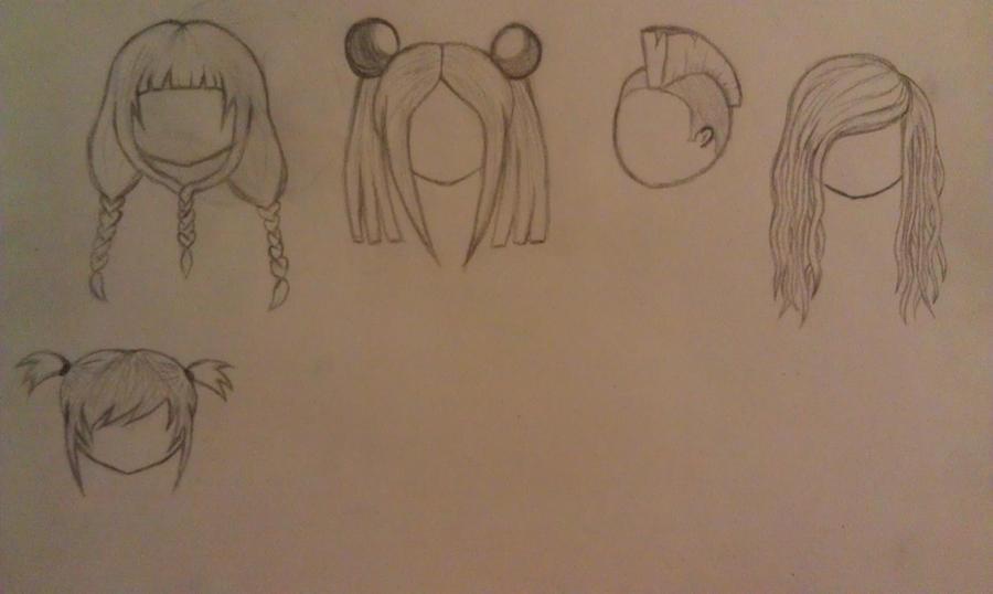 Chibi Hair Styles By Ambersidolmind On Deviantart