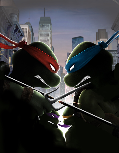 TMNT Smash-Up by Darkness-Man