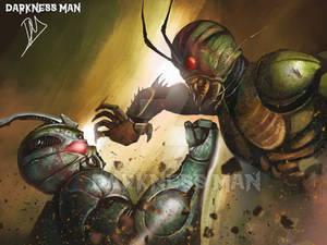 Guyver vs Kamen Rider Shin