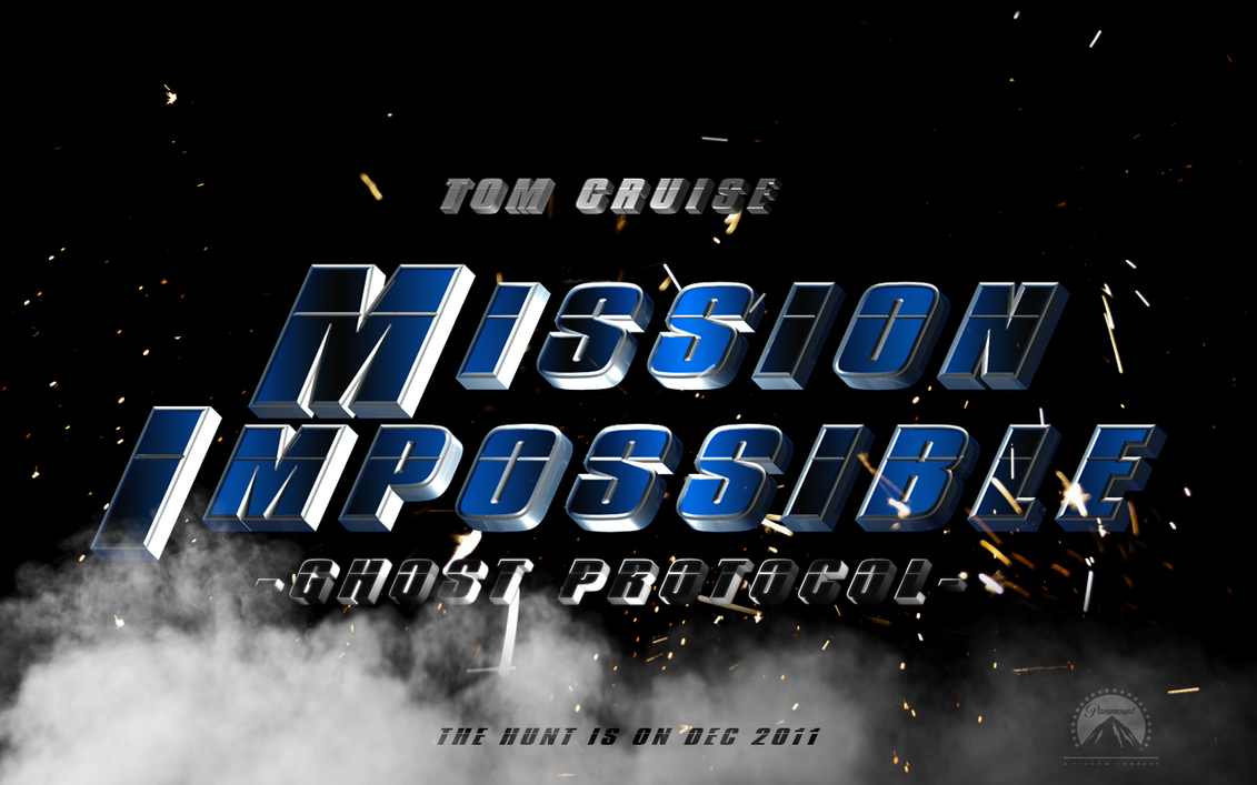 Mission:Impossible: 4 banner by BaoThao