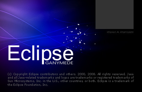 Eclipse Splash Screen by Mxmler