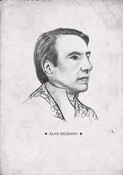 alan rickman by maeappleseed