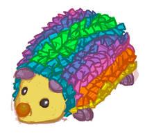 hedgehog by PinstripeFedora