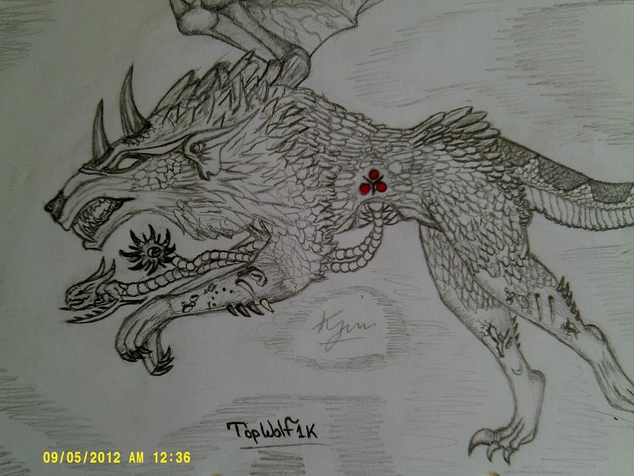 Chaos'z Wolfy by kyujinn