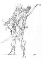 Elf Ranger by grandanvil