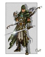 Elven Ranger by grandanvil
