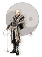 Monk by grandanvil