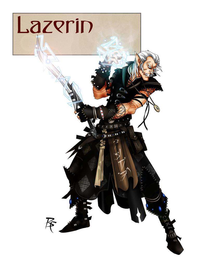 Lazerin by grandanvil