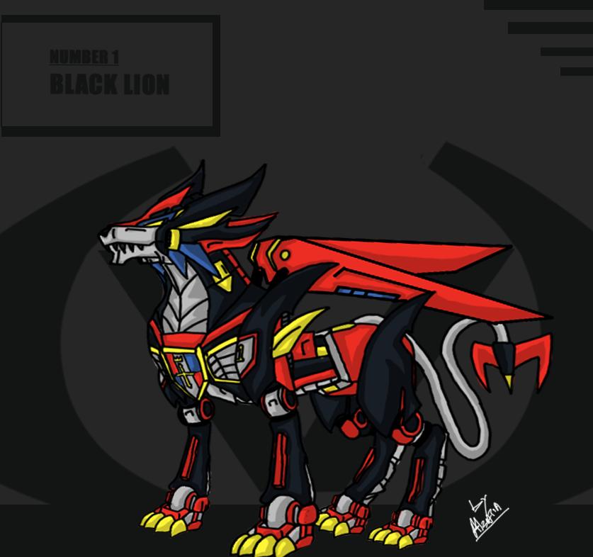 Voltron-Black Lion Revamp by Alzatia