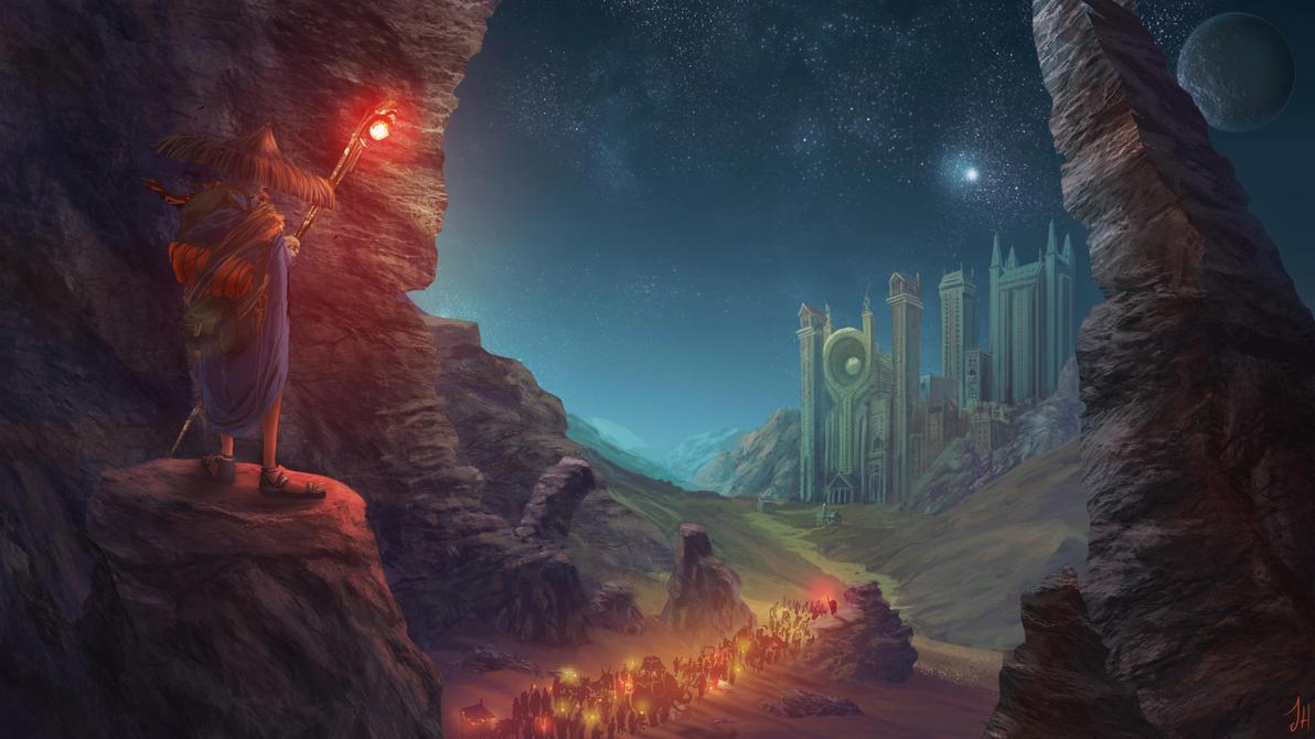 Journey to Hsien T'un by JoshHutchinson
