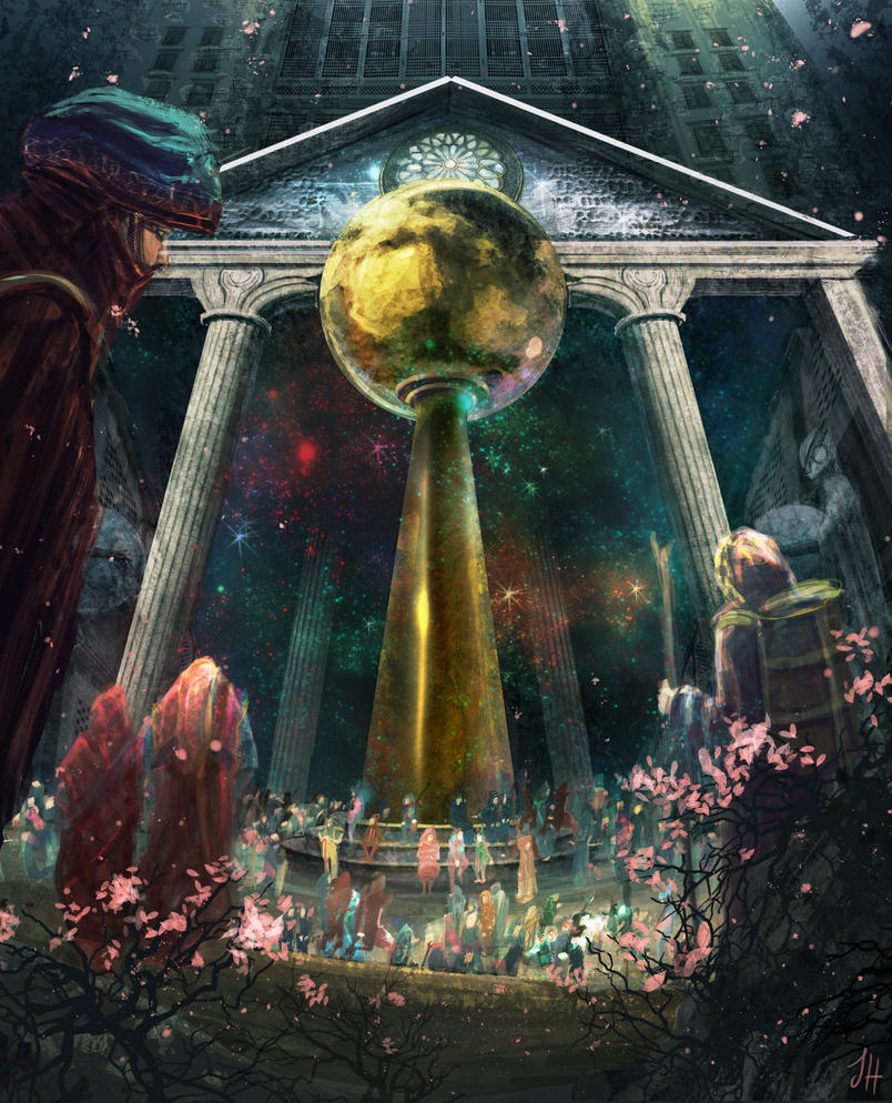 Entrance to Hsien T'un - The Lunar Kingdom by JoshHutchinson