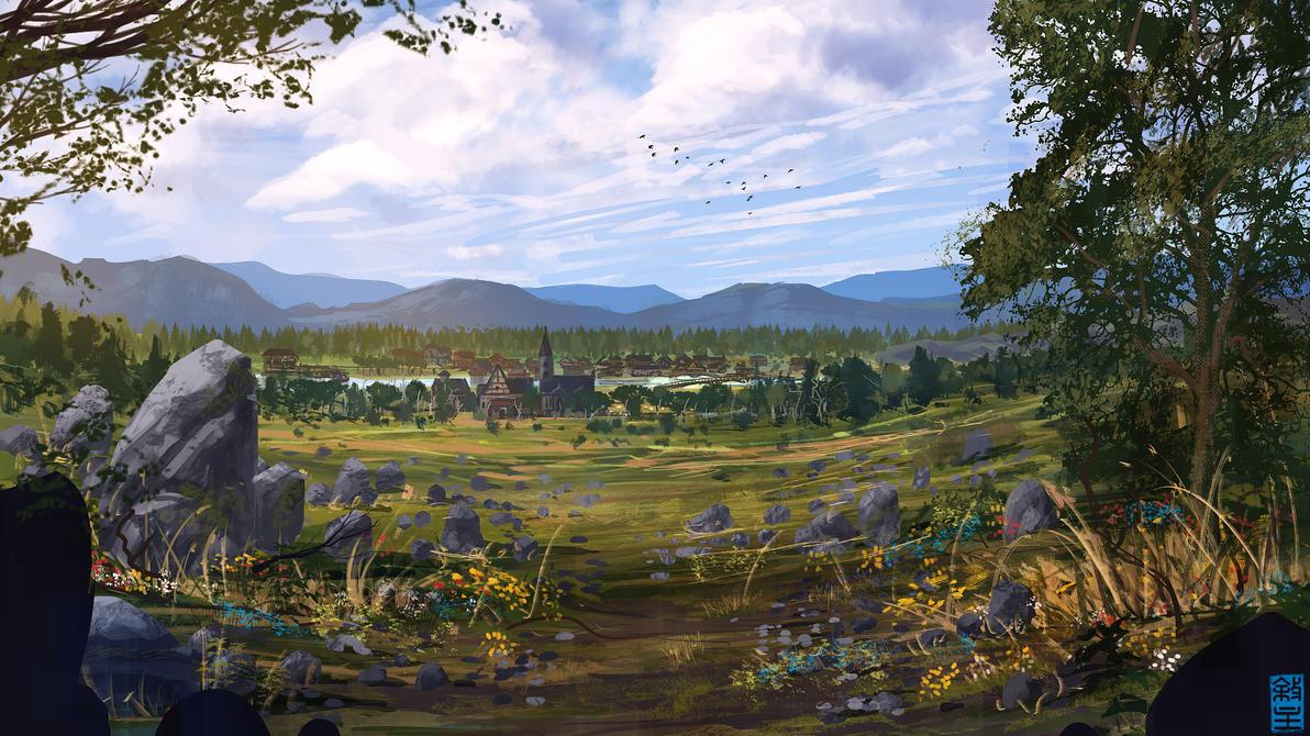 Stone Fields of Sipsburgh by JoshHutchinson
