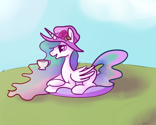 celestia__s_afternoon_tea__clean__by_nas