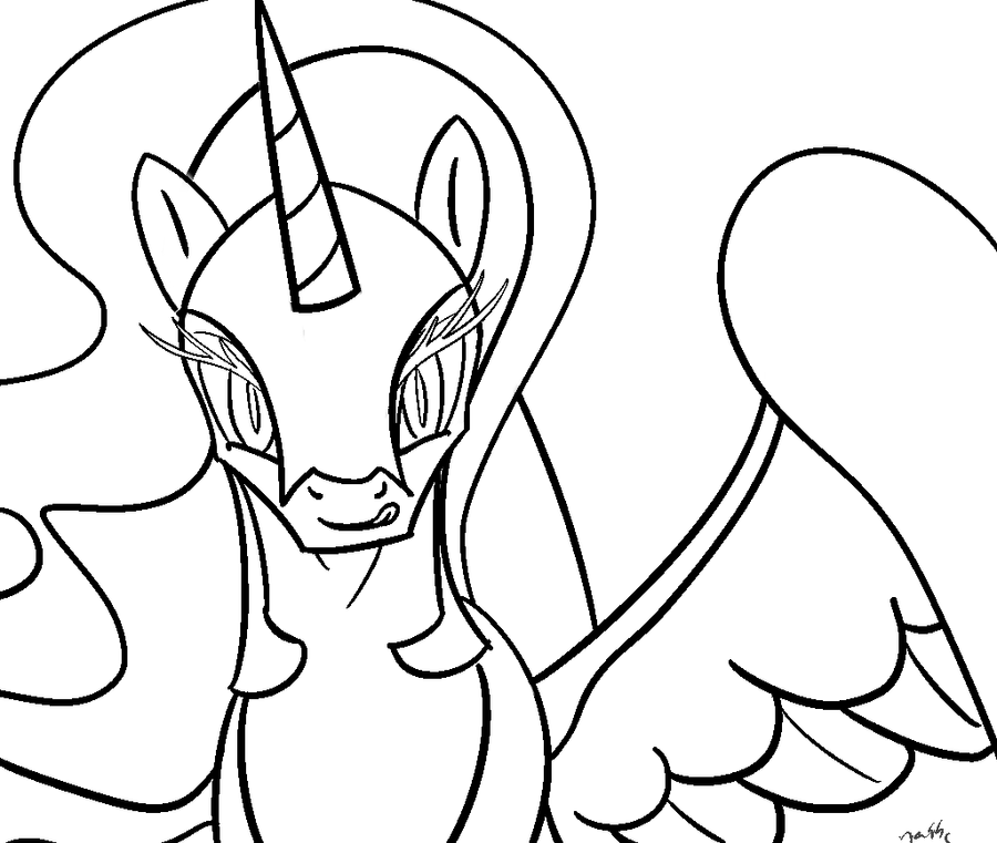how to draw nightmare moon