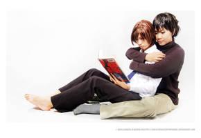 Hiroki and Nowaki by stringedpantomime