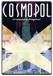 Cosmopol poster by chaosphaere