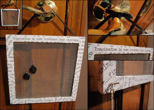 Quote Earring Holder