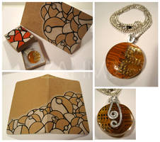 Circuit Necklace n' Pokeball Sketchbook