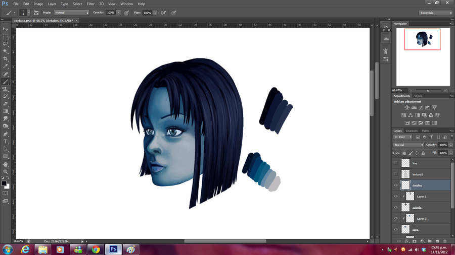 Cortana-progress by Cloudyh