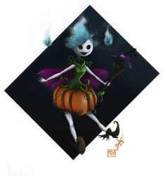 Guardian of halloween -Hallow- by Cloudyh