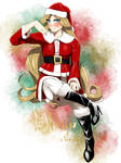 Commission - Mrs. Claus by Mango-Nectar