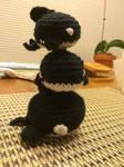 Crochet Orca Killer Whale Tower