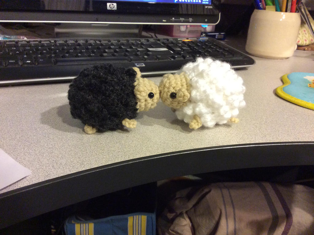 Sheep ~love at first baahh by uchihacrush
