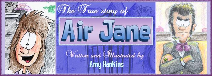 Air Jane Purtiful Banner by hankinstein