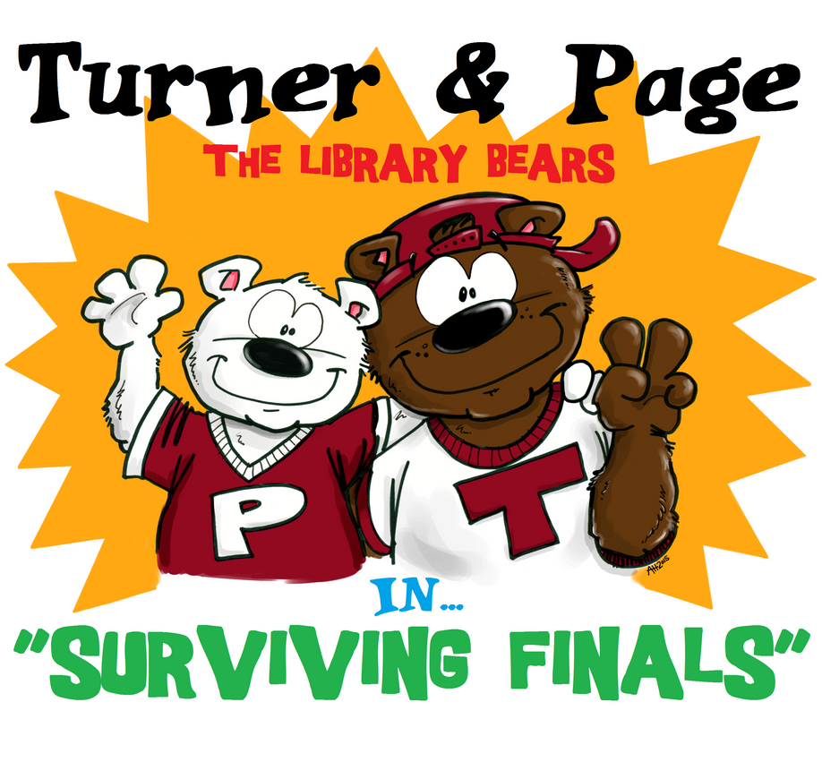 Turner and Page in Surviving Finals Week by hankinstein