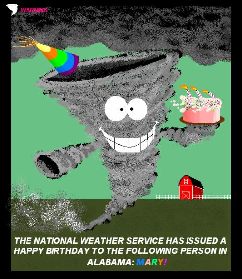 Storm Chaser Birthday Cake