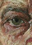 A strange eyes