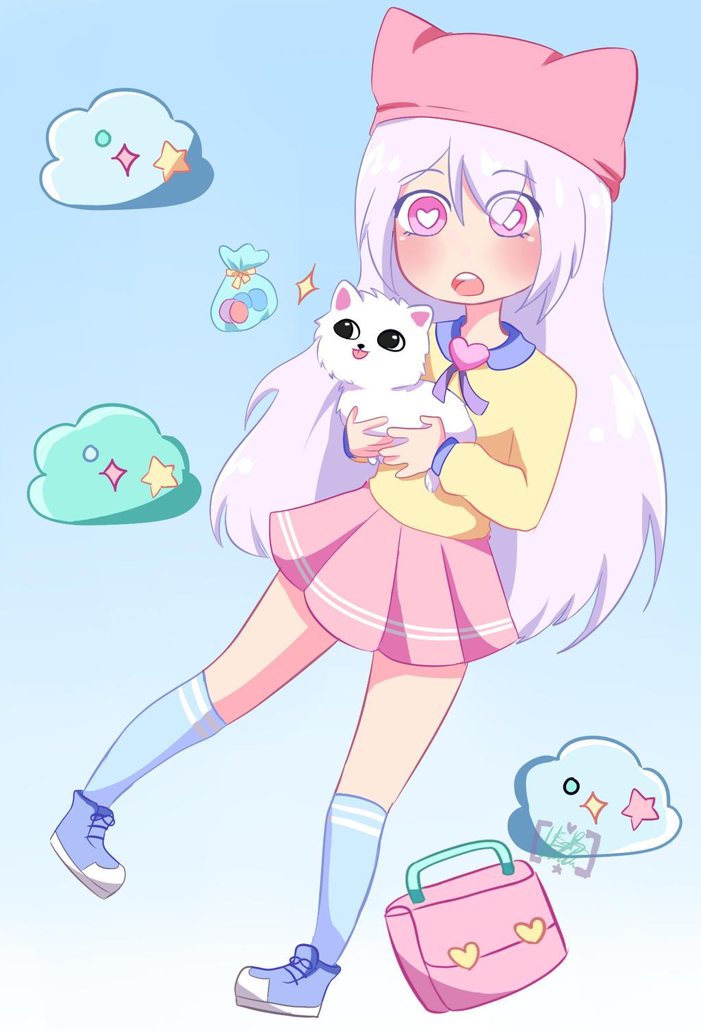 Pastel Girl Challange by tobiveroxd