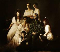 The Romanovs 1913 by staella