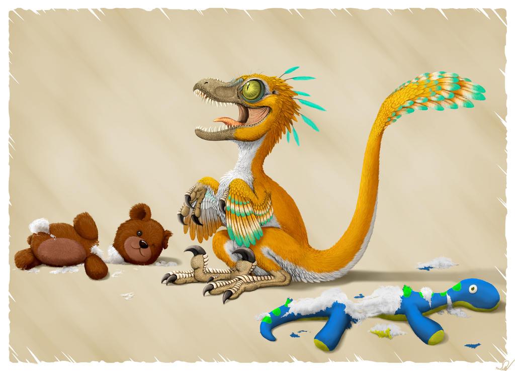 pet baby velociraptor by mantisverde on deviantart