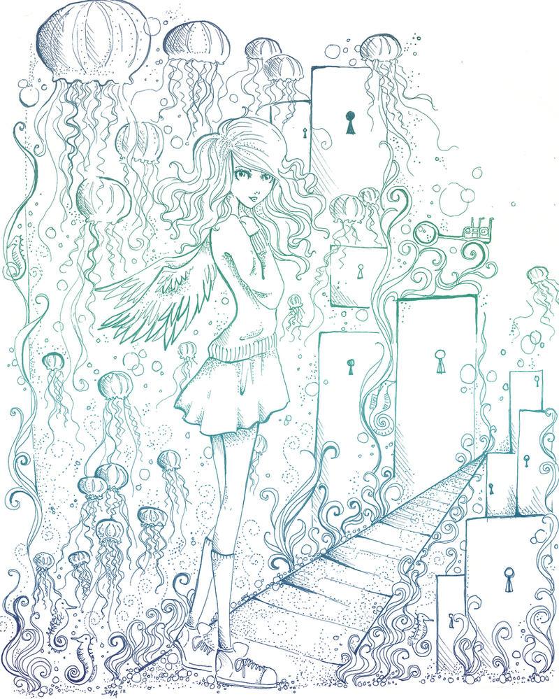 Jellyfish Waltz by Mirrei