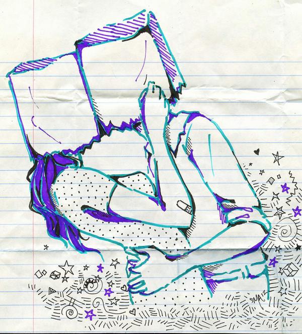 paperbag love by Mirrei