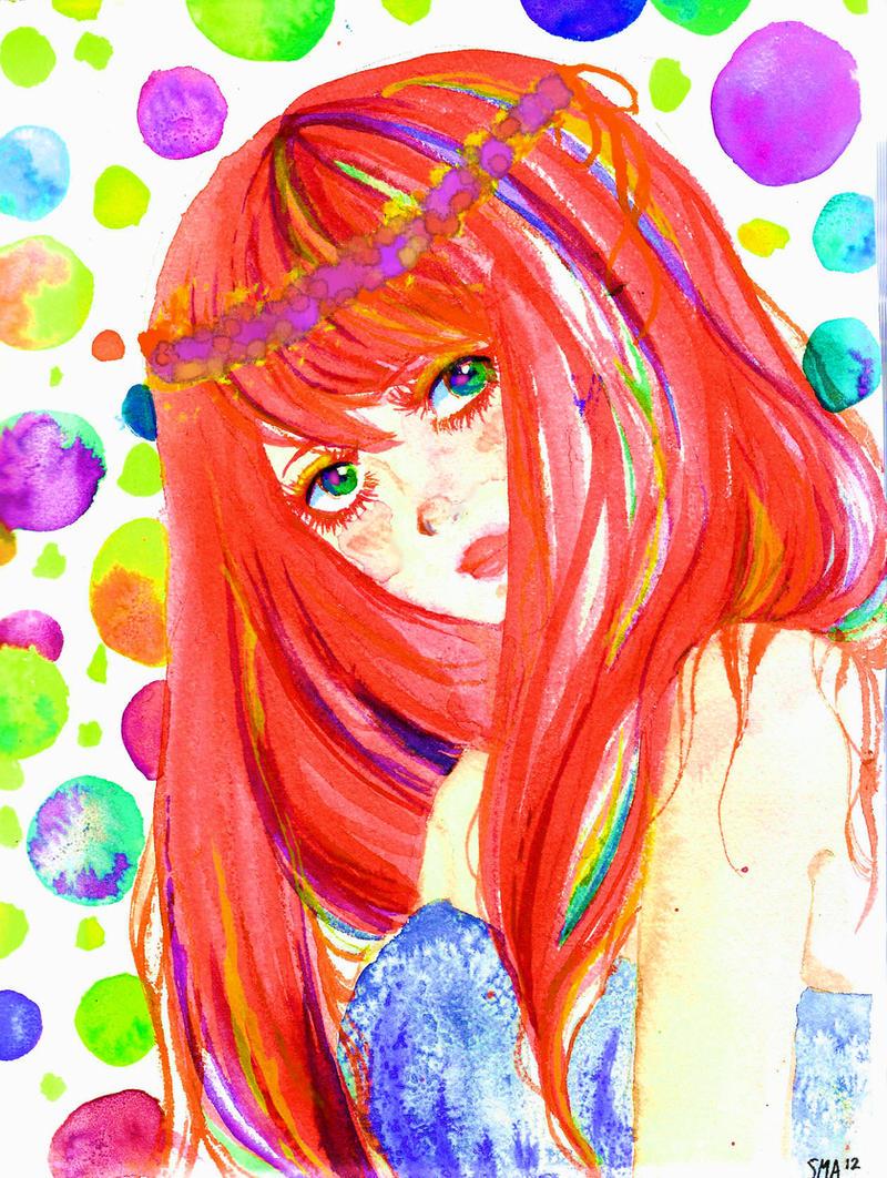 colour drop by Mirrei
