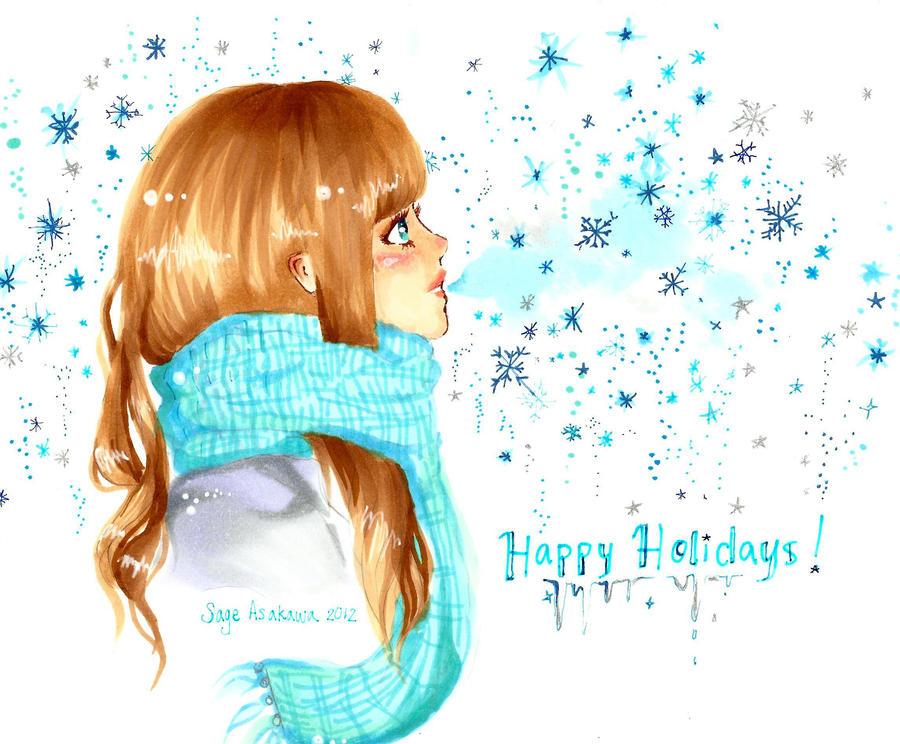 Happy Holidays by Mirrei