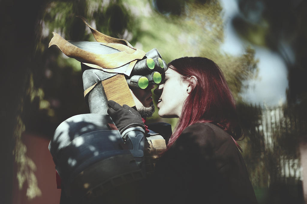 Master Yi Samurai and Katarina love by Orkochan on DeviantArt