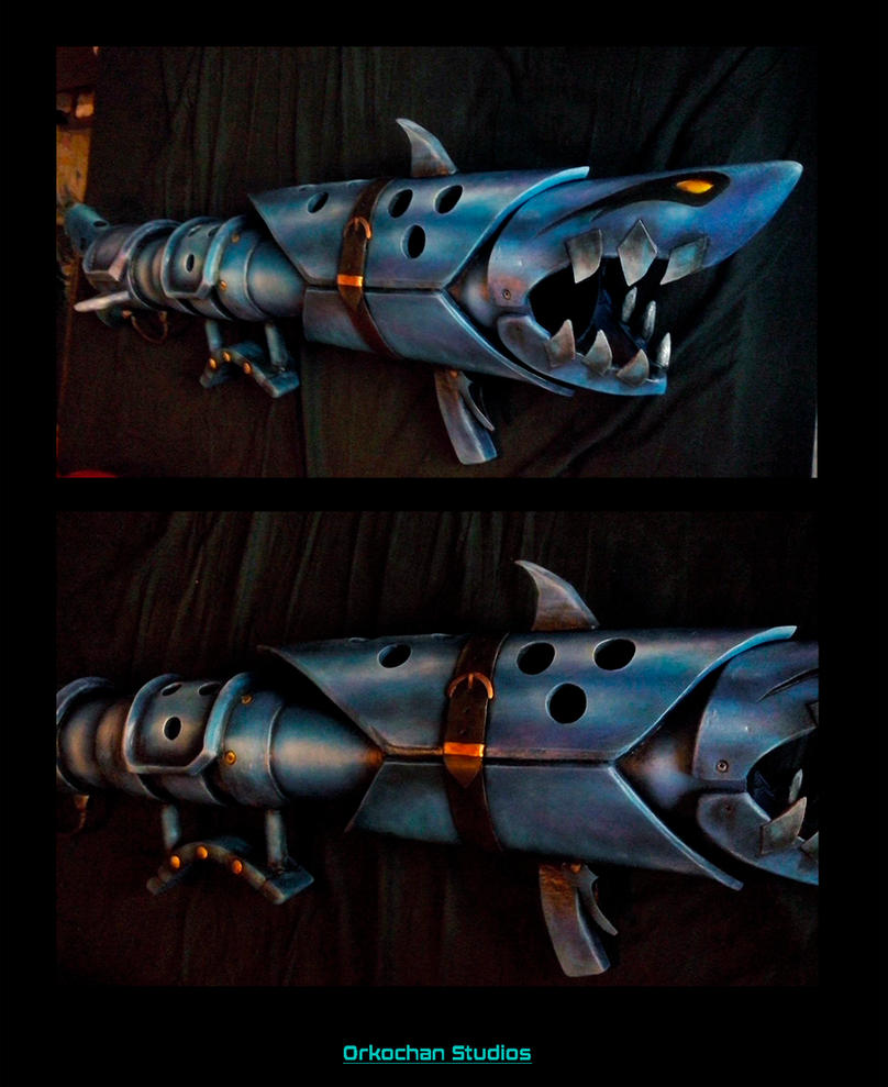 Fishbones Jinx - League of Legends by Orkochan