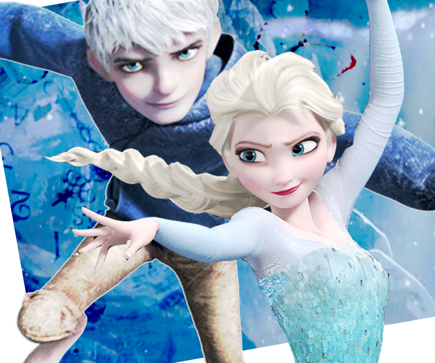 jack frost and elsa by thewinterhope on deviantart