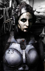 Adjutant cosplay by IriniAlferei