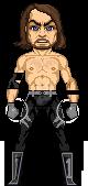 AJ Styles Microheroes by JRAbneyart