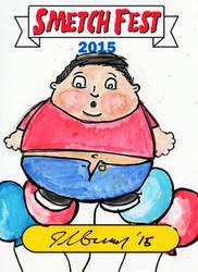 2015 Smetch Fest Garbage Pail Kids Sketch