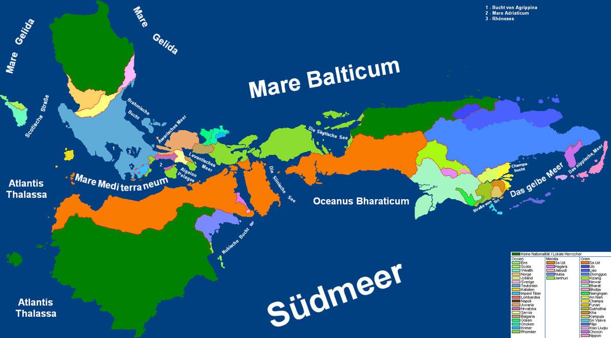 Weltkarte 4.3 von Sacra Tibia