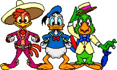 The Three Caballeros by Windwalker44