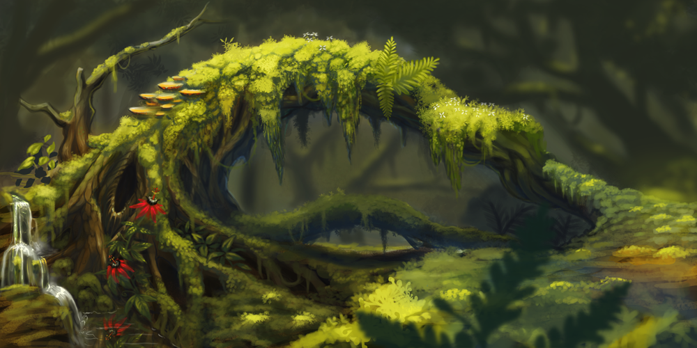 Forest WIP by Catwagons