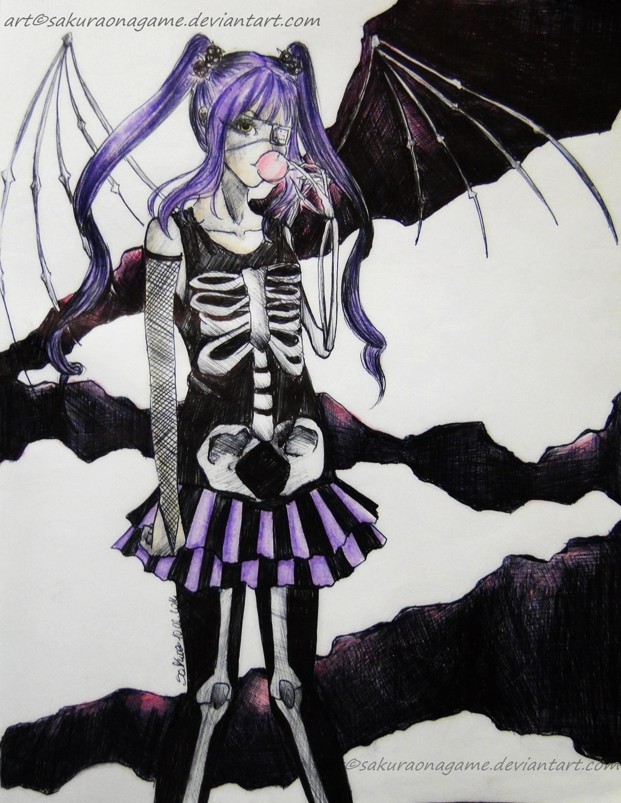 Inside the darkness by SakuraoNagame